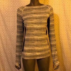 Calvin Klein Pullover w/ see-through mesh sz M